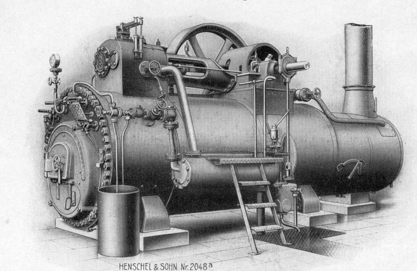 Henscel locomobile